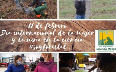 """Día internacional de la mujer y la niña en la ciencia """"soyforestal"""""""